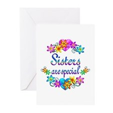 Sisters are Special Greeting Cards (Pk of 10)