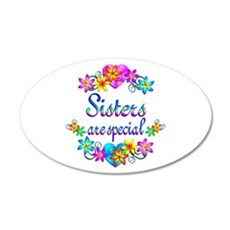 Sisters are Special Wall Decal