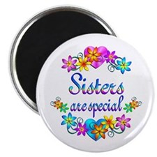"""Sisters are Special 2.25"""" Magnet (100 pack)"""