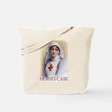 Nurses Care Tote Bag