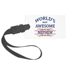 World's Most Awesome Nephew Luggage Tag