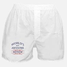 World's Most Awesome Nephew Boxer Shorts