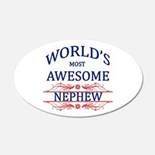 World's Most Awesome Nephew Wall Decal