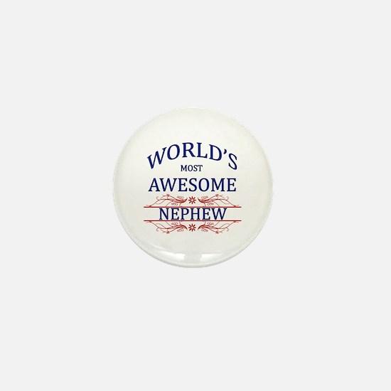 World's Most Awesome Nephew Mini Button