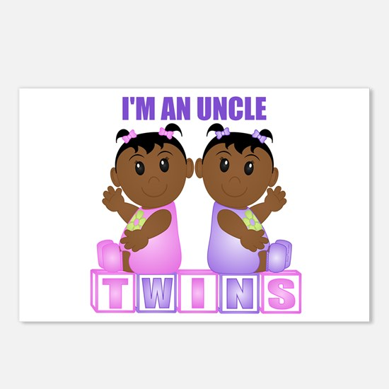 I'm An Uncle (DGG:blk) Postcards (Package of 8)