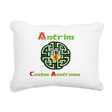 Antrim,wheel,Arms.png Rectangular Canvas Pillow