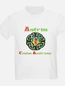 Antrim,wheel,Arms.png T-Shirt
