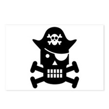 Pirate Day Postcards (Package of 8)