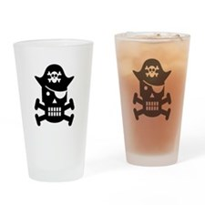 Pirate Day Drinking Glass