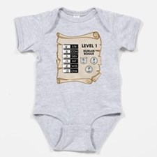 My First Character Sheet Infant Onesie