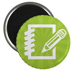 CK Summer Camp 2013 Journaling Merit Badge Magnet