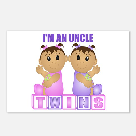 I'm An Uncle (TGG:blk) Postcards (Package of 8)