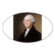Gilbert Stuart - George Washington (2) Decal