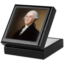 Gilbert Stuart - George Washington (2) Keepsake Bo