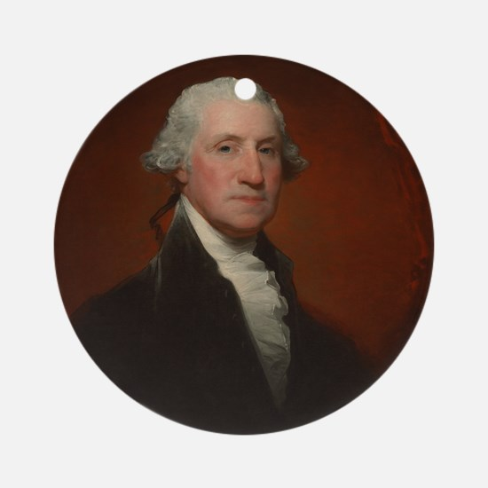 Gilbert Stuart - George Washington Ornament (Round