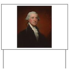Gilbert Stuart - George Washington Yard Sign