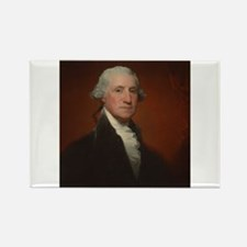 Gilbert Stuart - George Washington Rectangle Magne