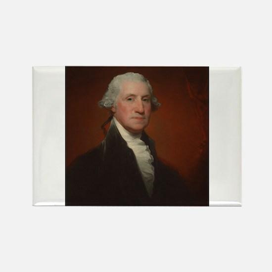 Gilbert Stuart - George Washington Rectangle Magne
