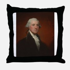 Gilbert Stuart - George Washington Throw Pillow