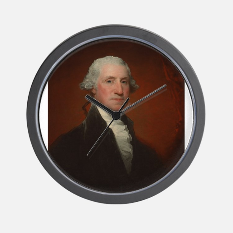 Gilbert Stuart - George Washington Wall Clock