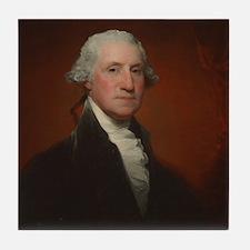 Gilbert Stuart - George Washington Tile Coaster