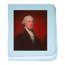 Gilbert Stuart - George Washington baby blanket