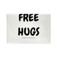 Free Hugs Rectangle Magnet
