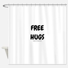 Free Hugs Shower Curtain