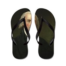 Gilbert Stuart - James Madison Flip Flops