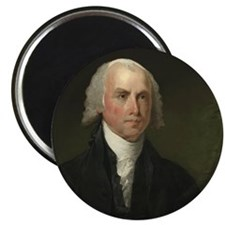 Gilbert Stuart - James Madison Magnet