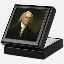 Gilbert Stuart - James Madison Keepsake Box