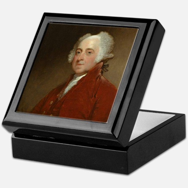 Gilbert Stuart - John Adams Keepsake Box