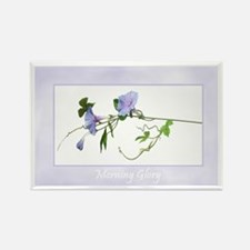 Morning Glory Floral Magnet (1 pc)