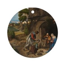 Giorgione - The Adoration of the Shepherds Ornamen