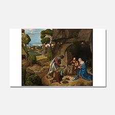 Giorgione - The Adoration of the Shepherds Car Mag
