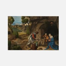 Giorgione - The Adoration of the Shepherds Rectang