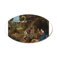 Giorgione - The Adoration of the Shepherds Wall De