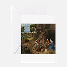 Giorgione - The Adoration of the Shepherds Greetin