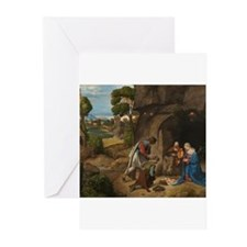 Giorgione - The Adoration of the Shepherds Greetin