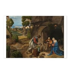 Giorgione - The Adoration of the Shepherds Postcar