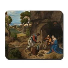 Giorgione - The Adoration of the Shepherds Mousepa