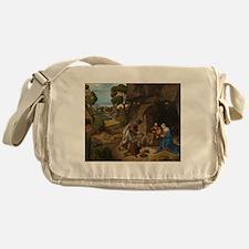 Giorgione - The Adoration of the Shepherds Messeng