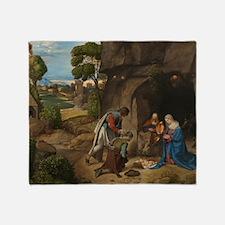 Giorgione - The Adoration of the Shepherds Throw B