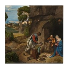 Giorgione - The Adoration of the Shepherds Tile Co
