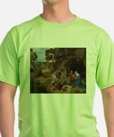 Giorgione - The Adoration of the Shepherds T-Shirt