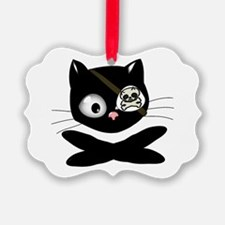 Pirate Kitty Ornament