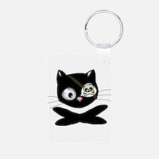 Pirate Kitty Keychains