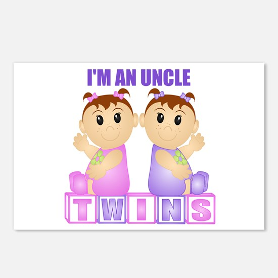 I'm An Uncle (PGG:blk) Postcards (Package of 8)