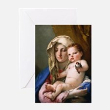 Giovanni Battista Tiepolo - Madonna of the Goldfi