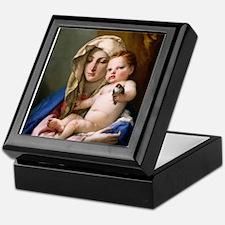 Giovanni Battista Tiepolo - Madonna of the Goldfi